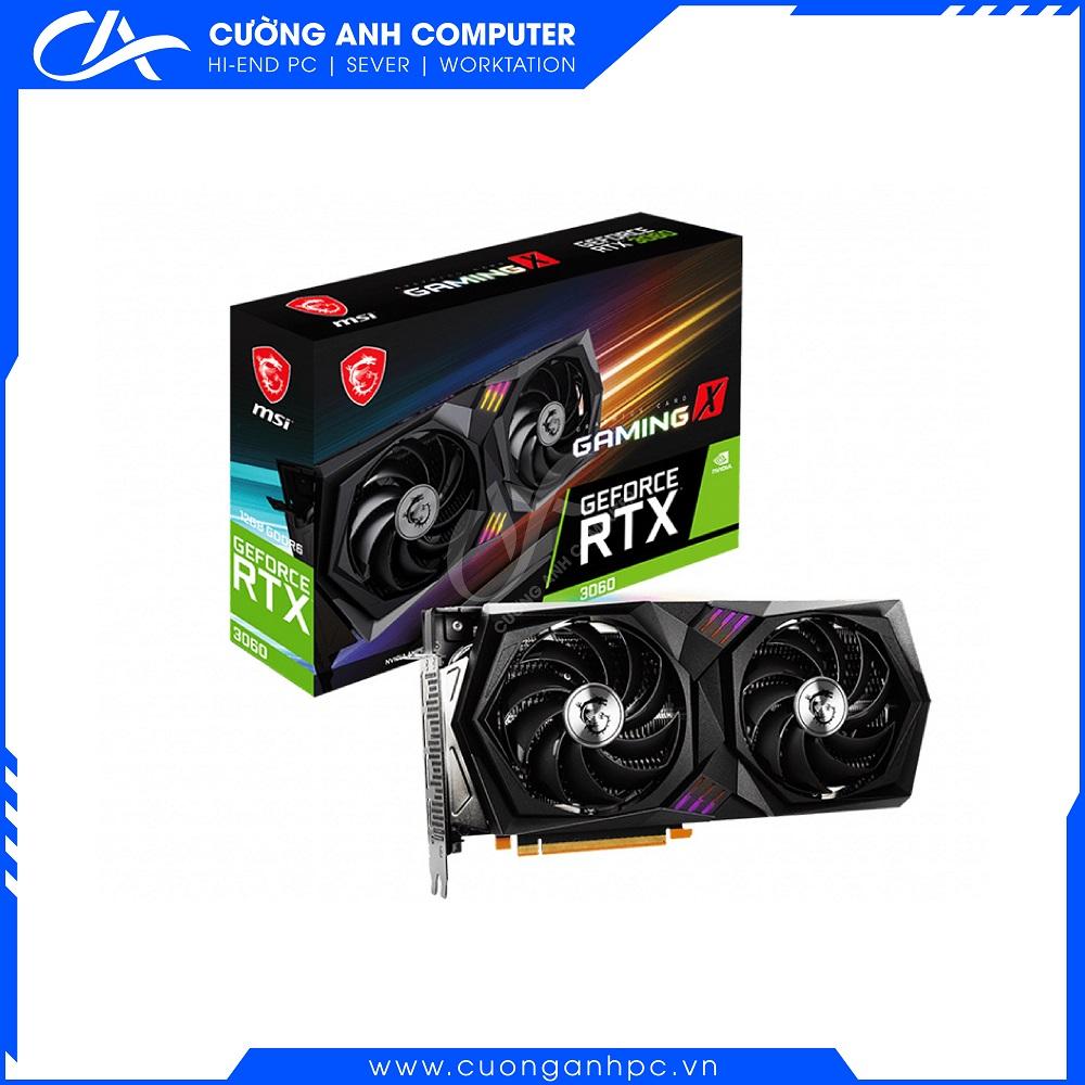 VGA MSI GeForce RTX 3060 GAMING X 12G