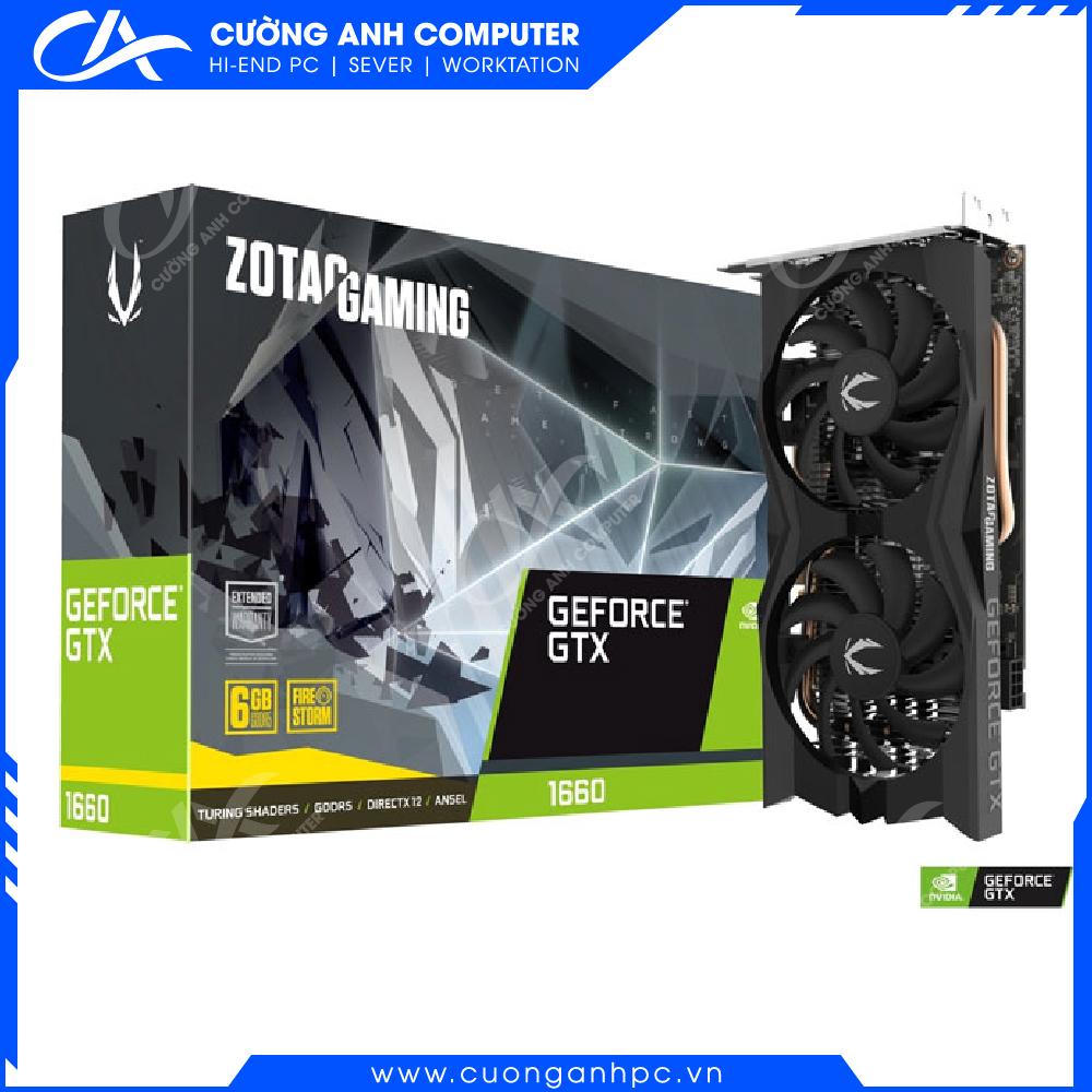 VGA ZOTAC GAMING GeForce GTX 1660 6GB GDDR5