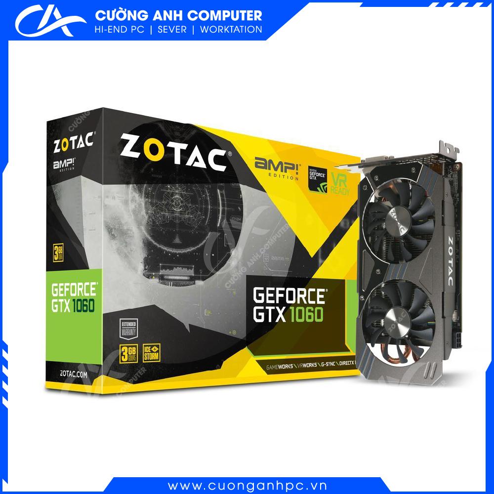 VGA ZOTAC GeForce GTX 1060 3GB 2Fan
