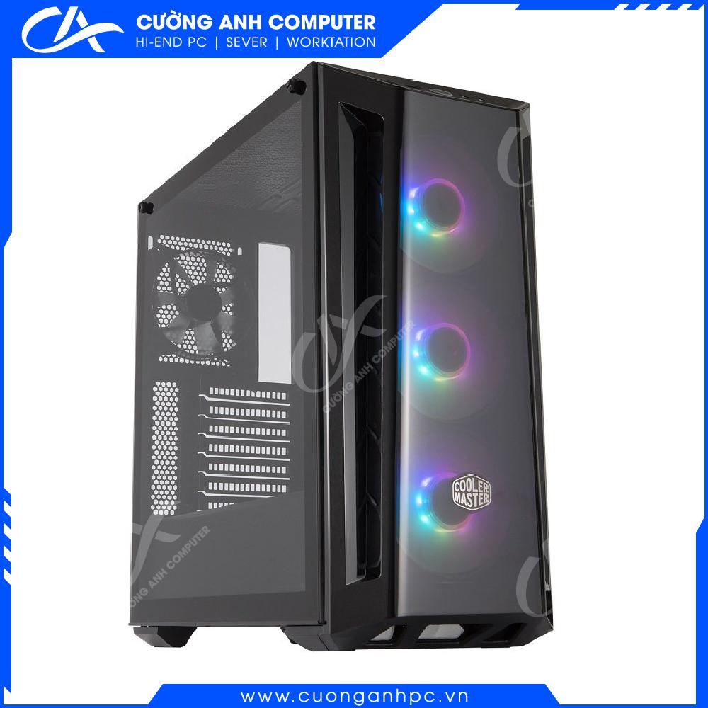 Vỏ case CoolerMaster MASTERBOX MB520 BLACK TRIM