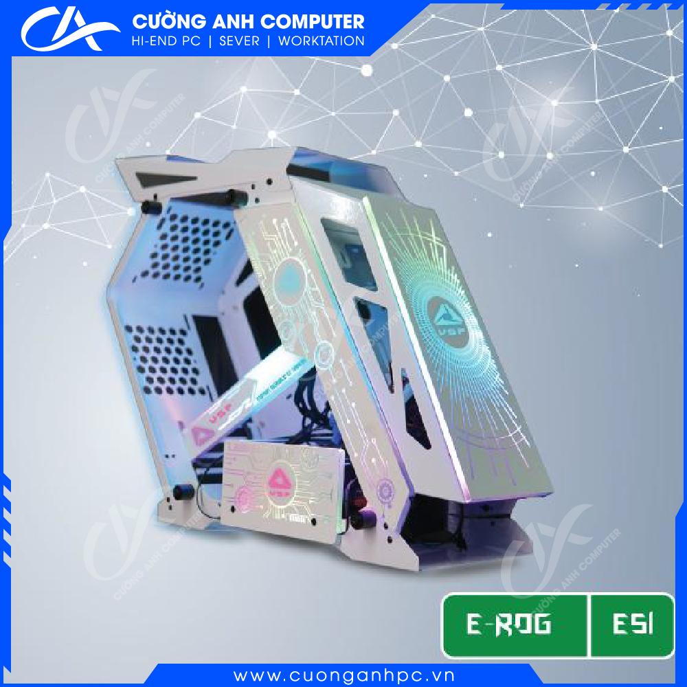 Vỏ case máy tính VSP E-ROG ES1 Gaming (No FAN)