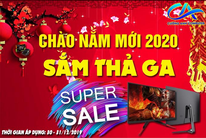 CHÀO NĂM MỚI 2020 - SẮM THẢ GA